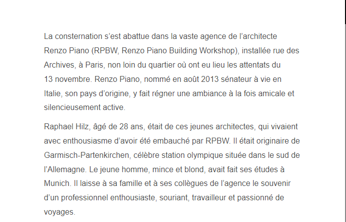 PARIS 13/11/2015 - Page 4 Raphae16