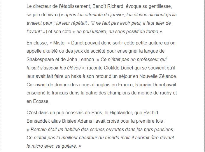 PARIS 13/11/2015 - Page 2 Romain12