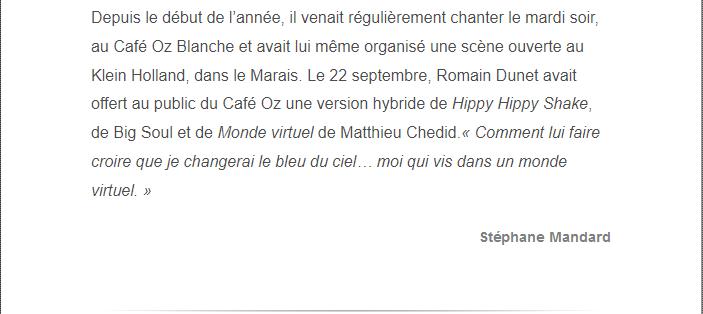 PARIS 13/11/2015 - Page 2 Romain13
