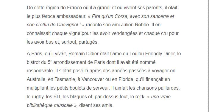 PARIS 13/11/2015 - Page 5 Romain20