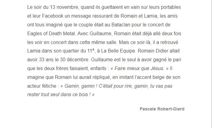 PARIS 13/11/2015 - Page 5 Romain21