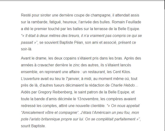 PARIS 13/11/2015 - Page 5 Romain23