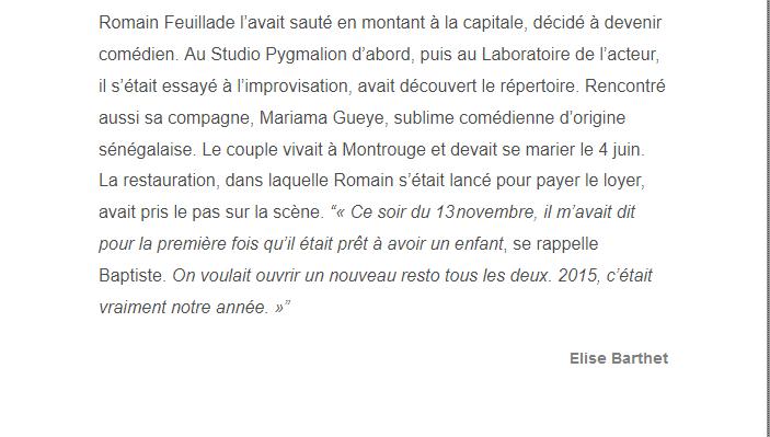 PARIS 13/11/2015 - Page 5 Romain26