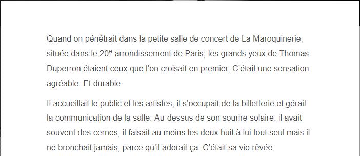PARIS 13/11/2015 - Page 4 Thomas11
