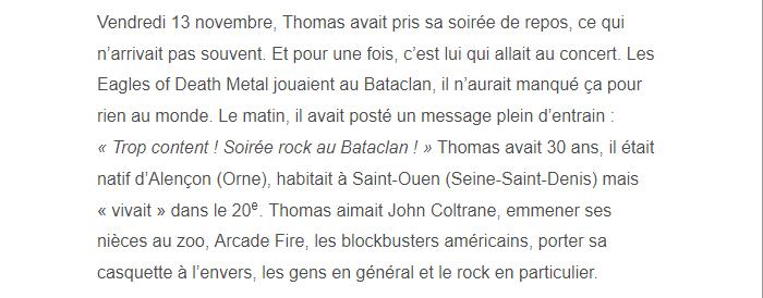 PARIS 13/11/2015 - Page 4 Thomas12