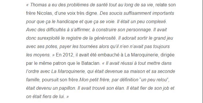 PARIS 13/11/2015 - Page 4 Thomas13