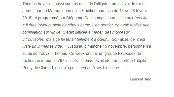 PARIS 13/11/2015 - Page 4 Thomas14