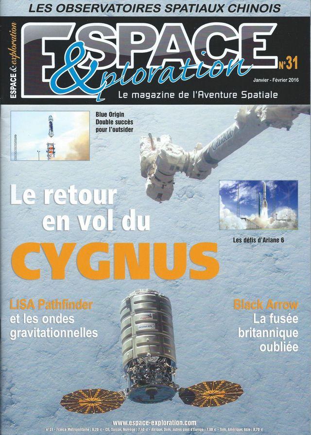Espace & Exploration n°31: Le retour en vol du Cygnus 16010010