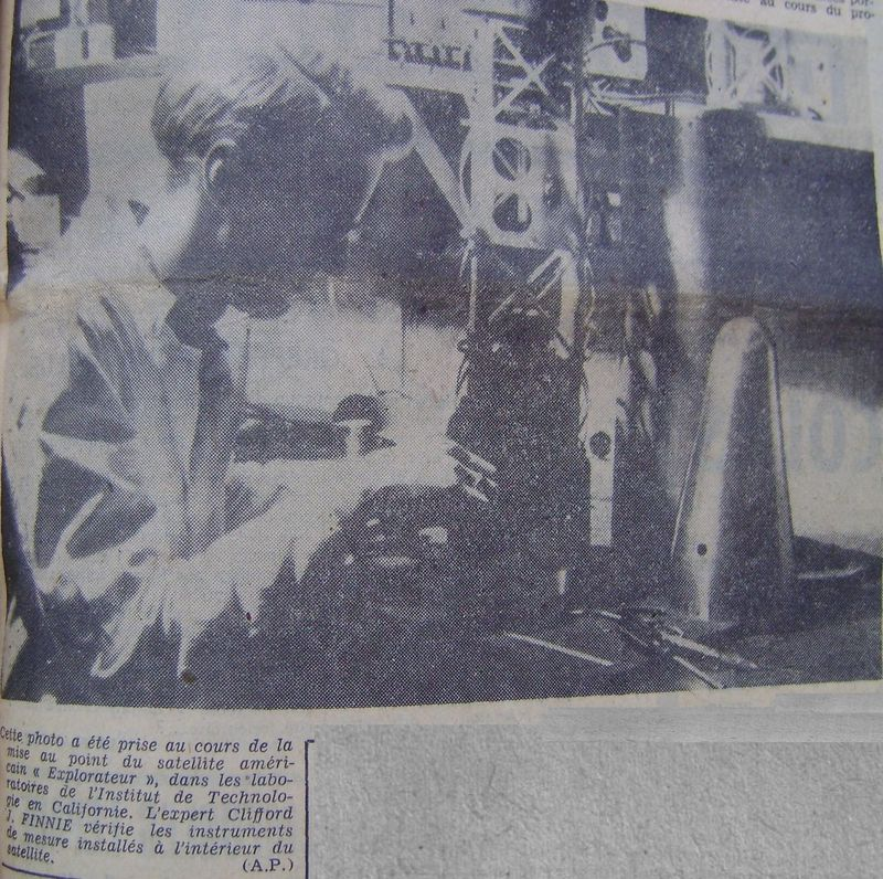 01 février 1958 - Explorer 1 - Les US démarrent la course 58020511