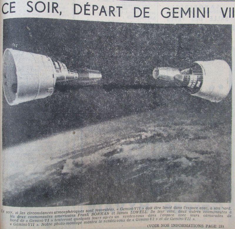 4 décembre 1965 - lancement de Gemini 7 65120610