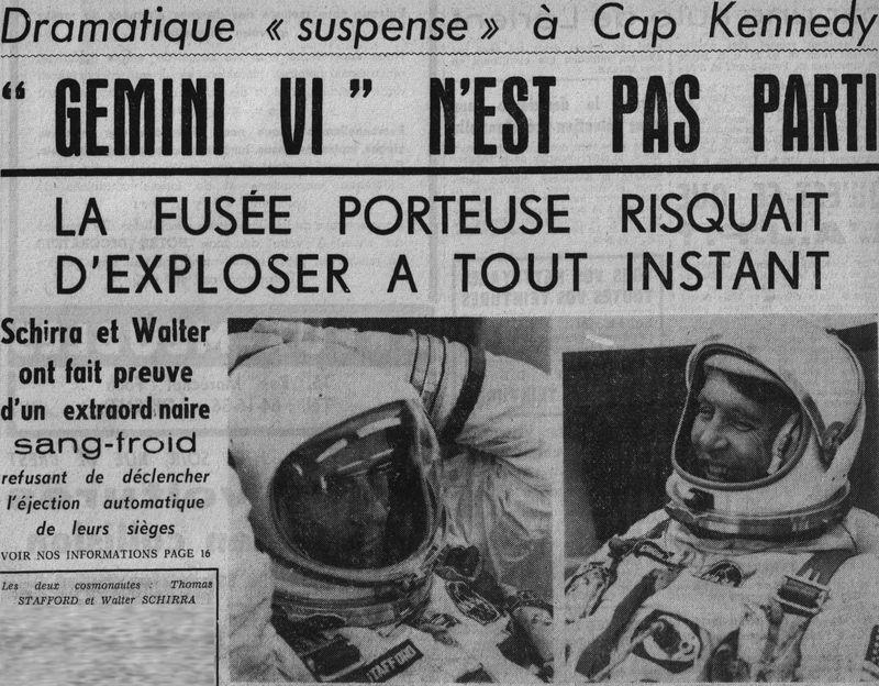 4 décembre 1965 - lancement de Gemini 7 65121410