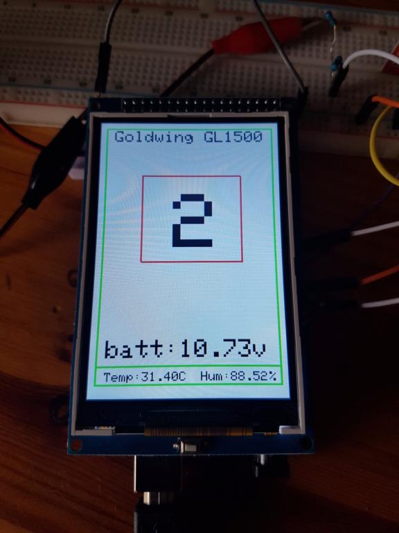 Nouvel écran lcd pour GL1500  20190822