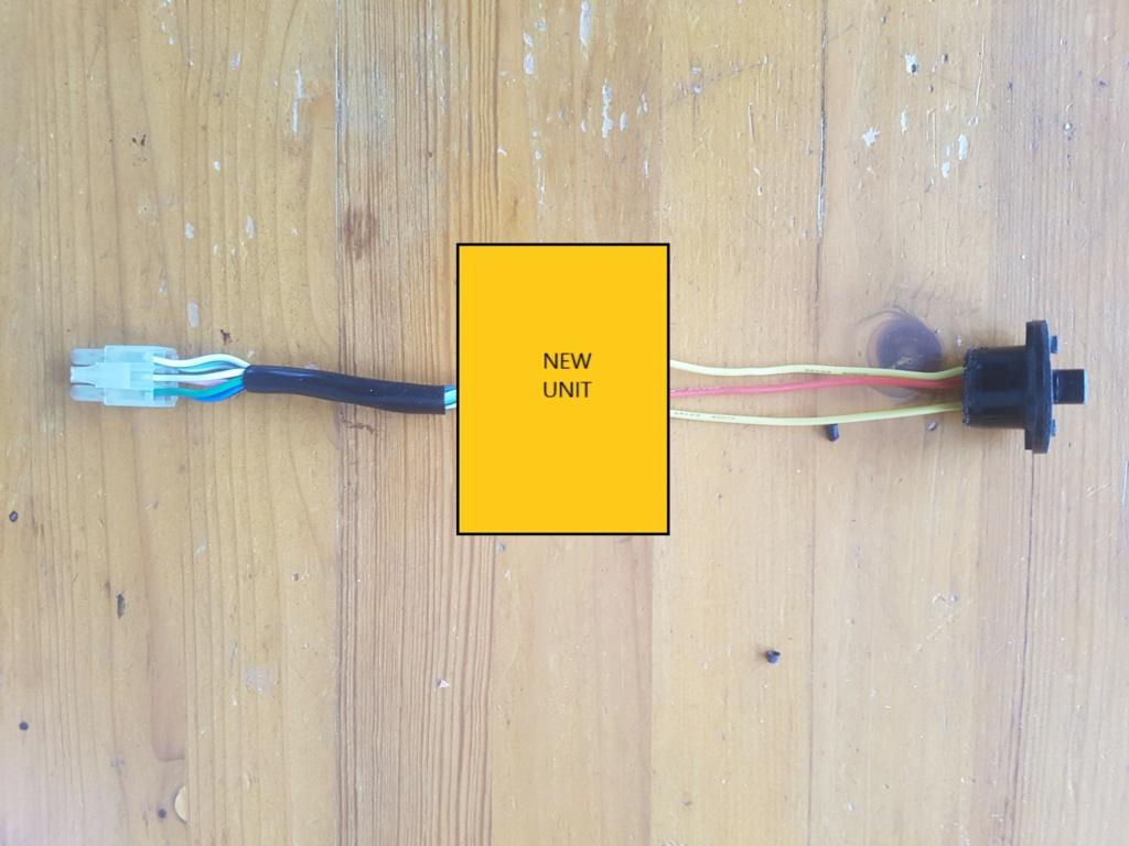 Nouvelle unité de controle d'annulation de clignotant (turn cancel unit 35220-MN5-003 ) GL1500 GL1800 20210213