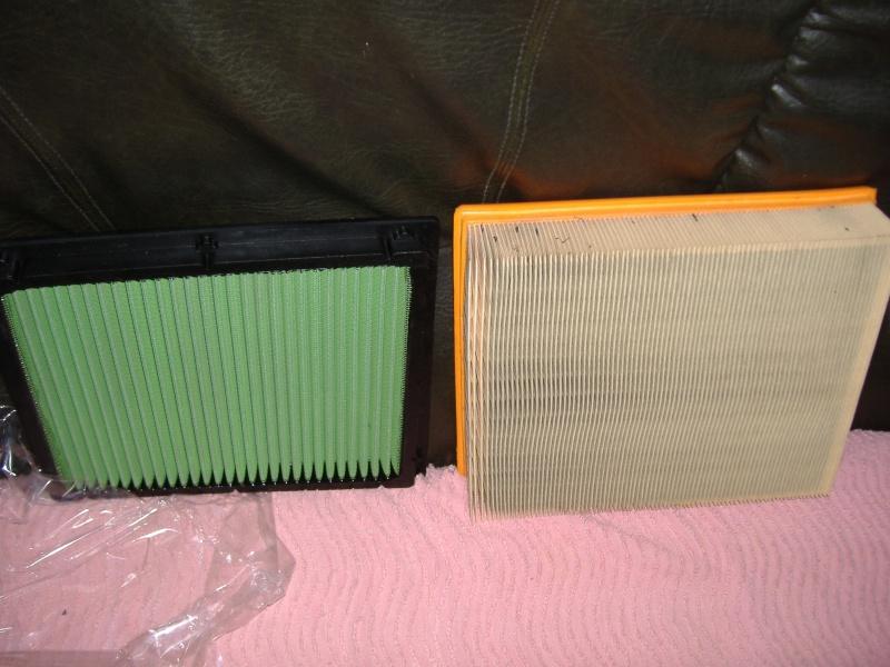 Filtres à air GREEN et K&N Dscf0828
