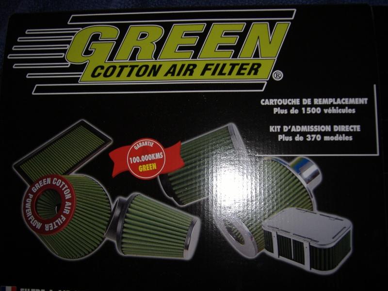 Filtres à air GREEN et K&N Dscf0830