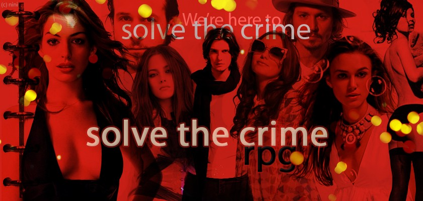 Solve the Crime