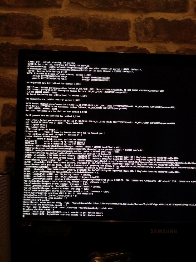 Probleme install high sierra et bios avec opencore Img_2014