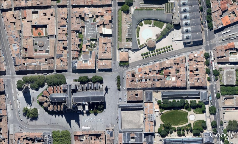 Plan en relief (3D) ou maquette tactile à Bordeaux - France Cath210