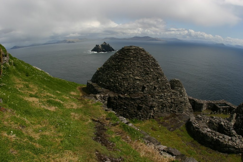 Skellig Michael island, Irlande (Star wars épisode VII) Force210