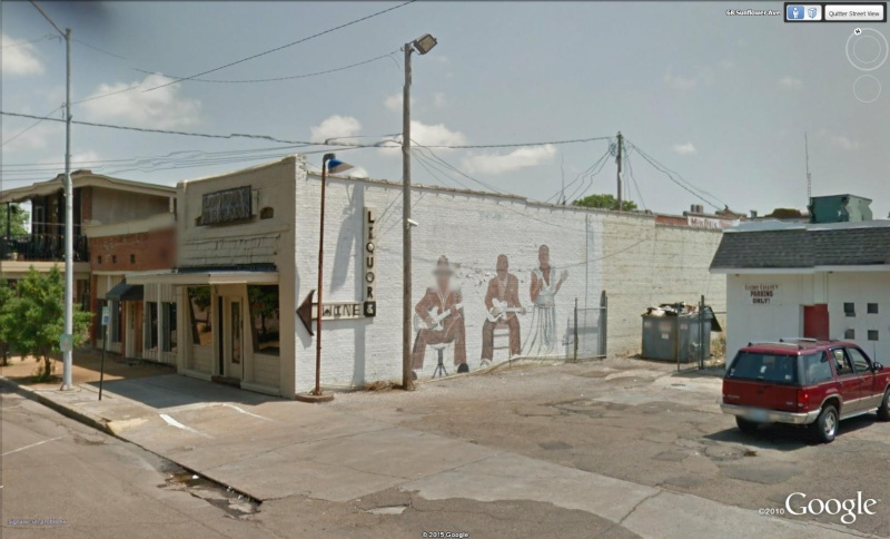 Le blues authentique dans les juke-joints du delta du Mississippi aux États-Unis Graphi10