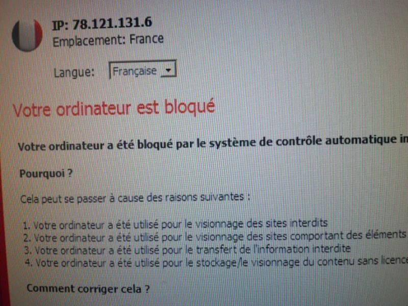 Attention, fraude. Virus_10