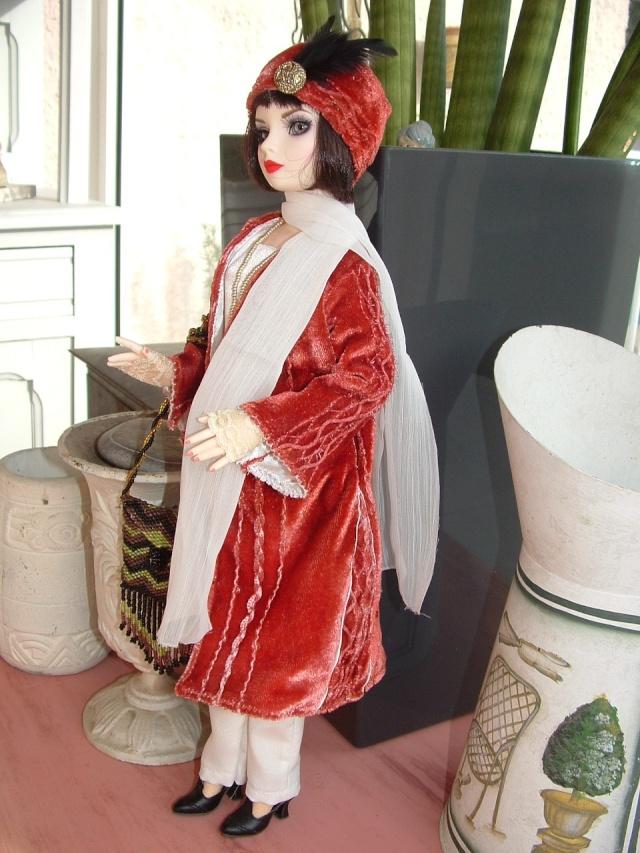 Miss Fisher, nouvelle saison nouvelle tenue Dscf0092