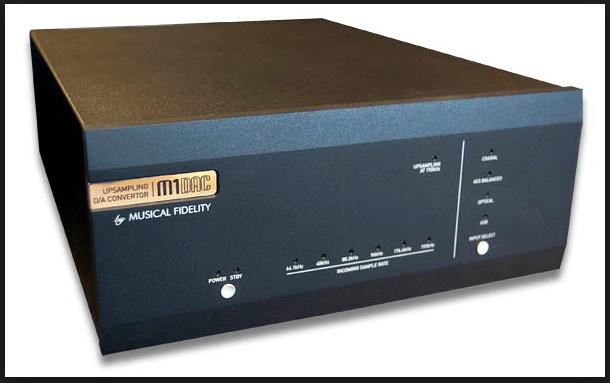 Musical Fidelity M1 DAC 24bit/192khz Mfdac410