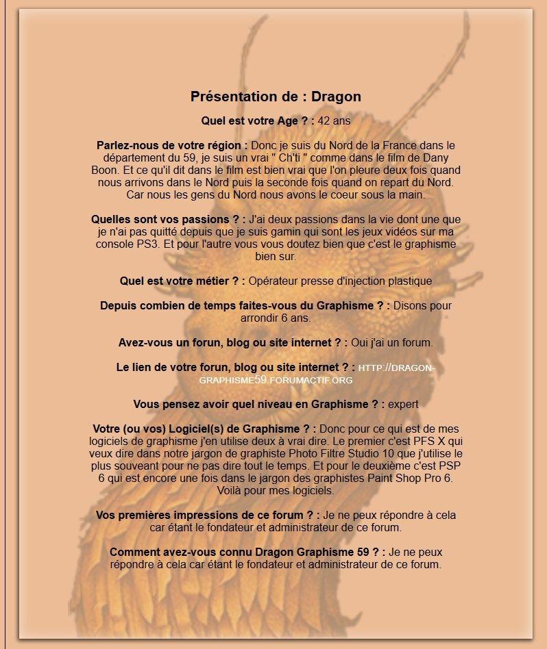 Présentation des membres suite au formulaire de présentation - Page 2 Prysen12