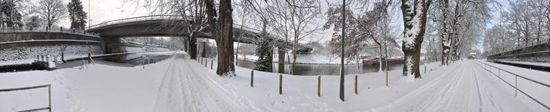Metz sous la neige. (17/12/2010) Canal_13