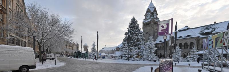 Metz sous la neige. (17/12/2010) Gare_011
