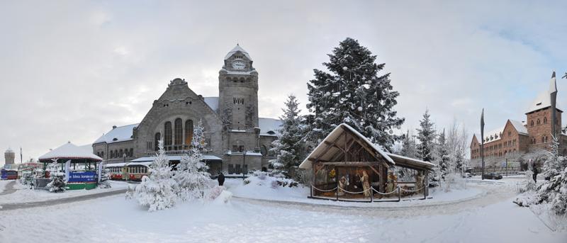 Metz sous la neige. (17/12/2010) Gare_014