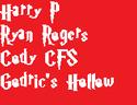 Harry Potter Font Sample10