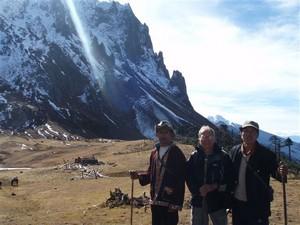"""La Chine sac au dos (3) """"Treks au pays des trois rivières parallèles"""" 2 ème épisode : du Nujiang à Deqin Col_mo10"""