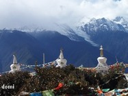 """La Chine Sac au dos (4) : """"Montagne Tibétaine de Deqin à Shangeri-La - Vol vers Lhassa"""" Deqin_10"""