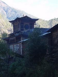 """La Chine sac au dos (3) """"Treks au pays des trois rivières parallèles"""" 2 ème épisode : du Nujiang à Deqin Eglise10"""