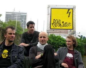 """Le groupe français """"Ma Valise"""" à Pékin le 11 juin 2010-20h à Mako Live house Mavali10"""