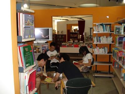 La médiathèque du Centre culturel français de Pékin : le français en partage 北京法国文化中心 多媒体 图书馆:共享法语! Mediat15