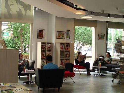 La médiathèque du Centre culturel français de Pékin : le français en partage 北京法国文化中心 多媒体 图书馆:共享法语! Mediat16
