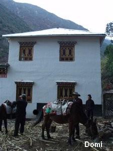 """La Chine sac au dos (3) """"Treks au pays des trois rivières parallèles"""" 2 ème épisode : du Nujiang à Deqin Notre_10"""