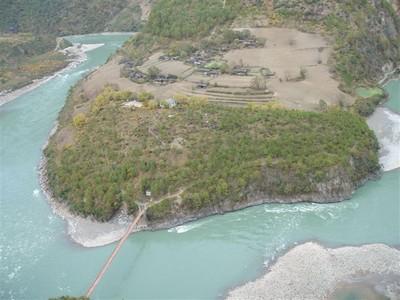 """La Chine sac au dos (2) :""""Treks au pays des trois rivières parallèles"""" - 1er épisode Nujian10"""
