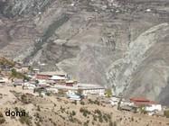 """La Chine Sac au dos (4) : """"Montagne Tibétaine de Deqin à Shangeri-La - Vol vers Lhassa"""" Villag10"""