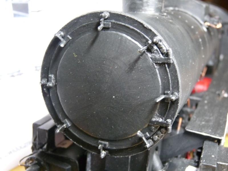 BR52 Kriegslok Modelik 15/03 in 1:25 Rauchk72