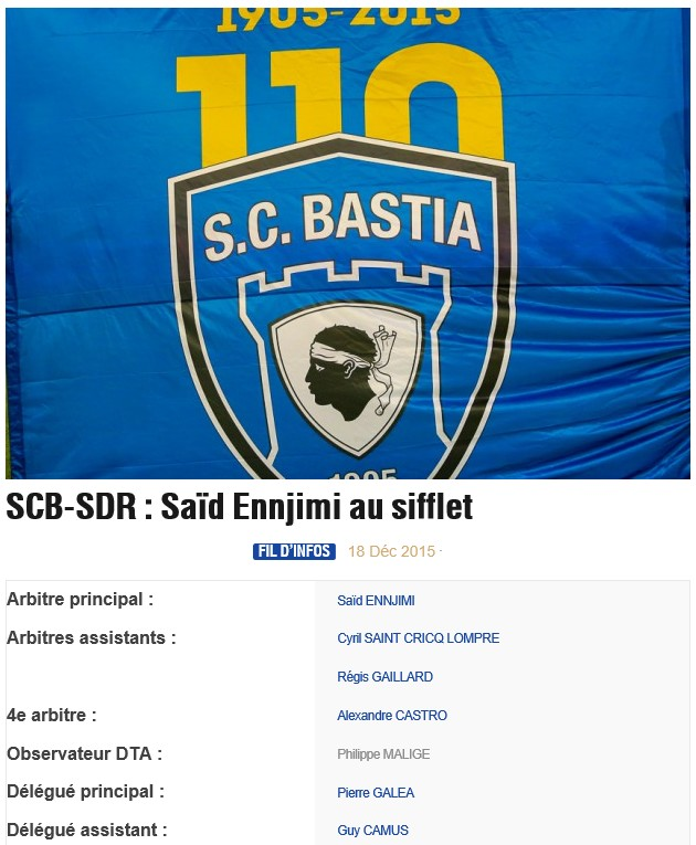 Avant match : Bastia - Reims S49