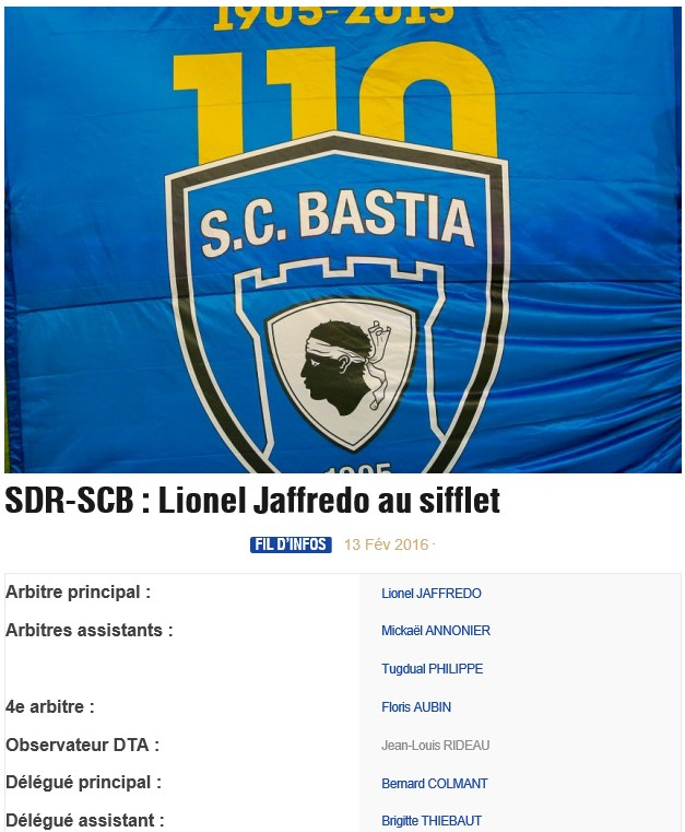 Avant match : Reims - Bastia S92