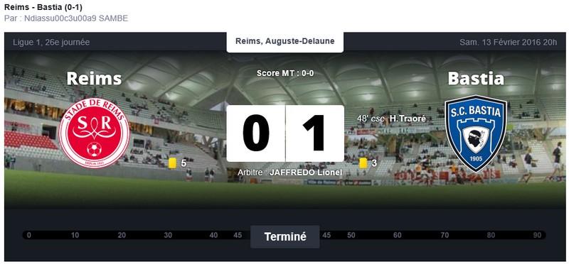 Après match : Reims - Bastia S94
