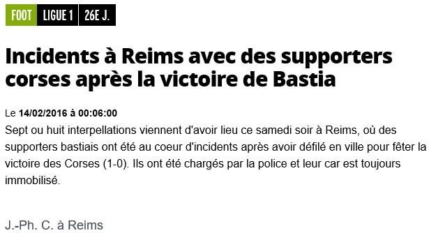 Après match : Reims - Bastia S97