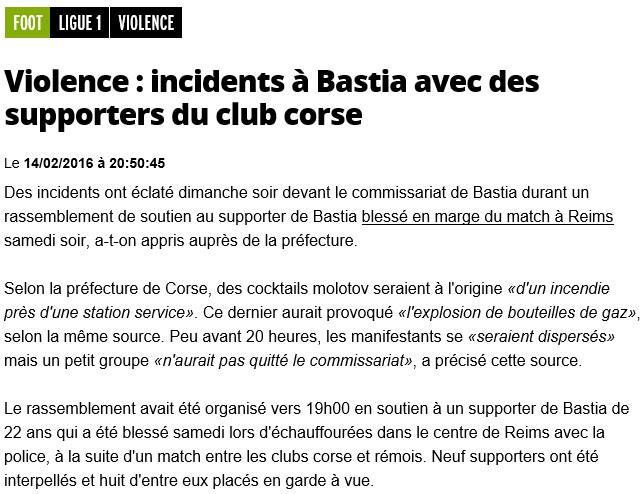 Après match : Reims - Bastia S99