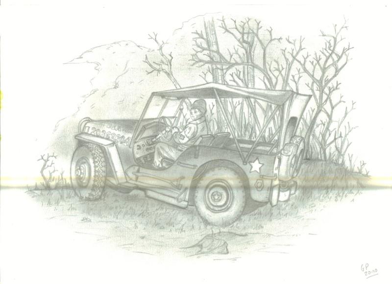 [Dessin de Gérard]   Jeep américaine. Ggdess10