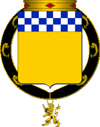 Armorial de l'Ordre de Sainct George Balson10