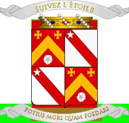 Armorial de l'Ordre de Sainct George Blason76
